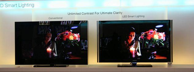 Samsung - obrazovky (srovnání)